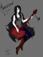 Marceline the Vampire Queen by ElementalEssence