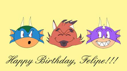 Happy Birthday, Felipe!!! by Jane1