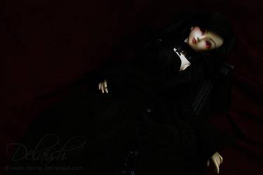 Eyes glowing red I by Devne