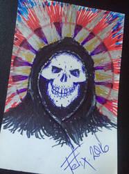 Santa Muerte by theFATpirate
