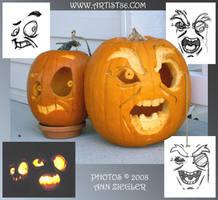 Pumpkins 08 by Cosmic-Riptide