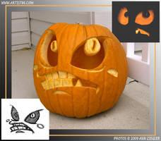Pumpkin 09 by Cosmic-Riptide