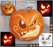 Pumpkin 11 by Cosmic-Riptide