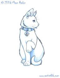 Cat Sketch by Cosmic-Riptide