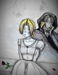 Lost Lovers (Sonia Belmont and Alucard/Adrian) by MidnaXLink16