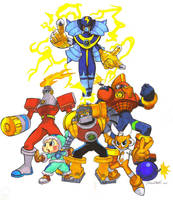 Megaman NT warrior Bosses 1 by troach31282