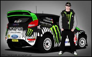 Ken Block - Ford Fiesta WRC by nokdesigns