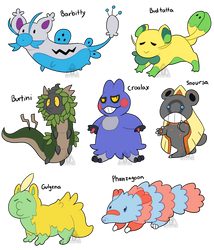 Pokemon Fusions $5/500 points Each [OPEN 7/7] by RecycIedTrash