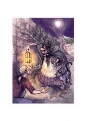 rapunzel illustraton by rose-colligan