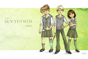 little slytherin crew by rose-colligan