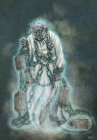 Jacob Marley by rose-colligan