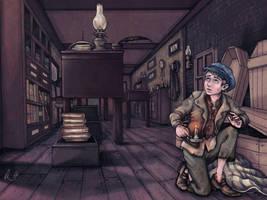 Oliver Twist by rose-colligan