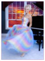 She's Like a Rainbow by aquapell