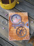 Steampunk Paper Book Cover by CianWolf