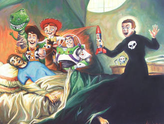 Deathbed of a Toypenitent by HillaryWhiteRabbit