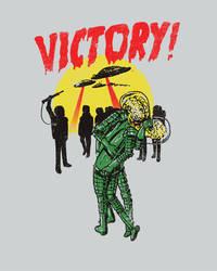 Victory! by HillaryWhiteRabbit
