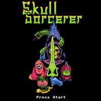 Skull Sorcerer by HillaryWhiteRabbit