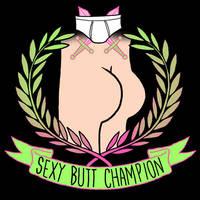 Sexy Butt Champion by HillaryWhiteRabbit