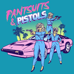 Pantsuits and Pistols by HillaryWhiteRabbit