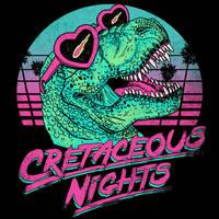 Cretaceous Nights by HillaryWhiteRabbit
