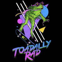 Toadally Rad by HillaryWhiteRabbit