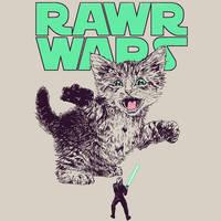 Rawr Wars by HillaryWhiteRabbit