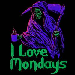 I Love Mondays by HillaryWhiteRabbit