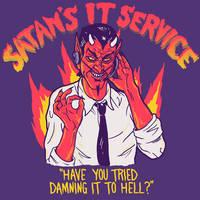 Satan's IT Service by HillaryWhiteRabbit