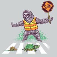 Slothing Guard by HillaryWhiteRabbit