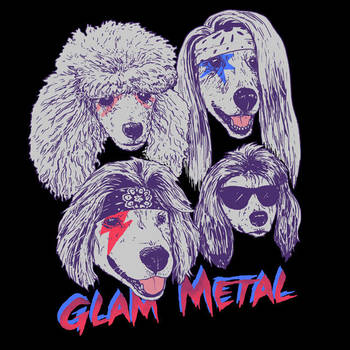 Glam Metal by HillaryWhiteRabbit