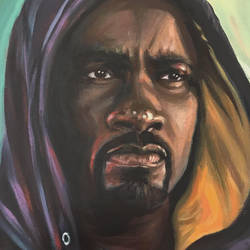 Luke Cage by HillaryWhiteRabbit
