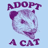 Adopt A Cat by HillaryWhiteRabbit