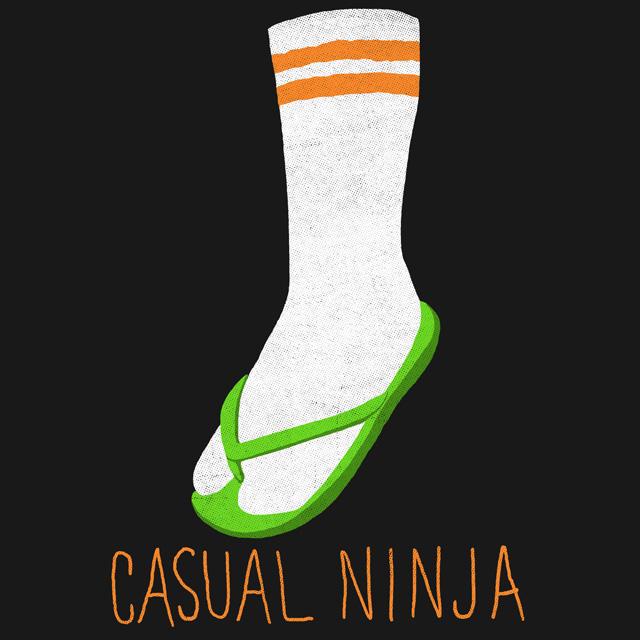 Casual Ninja by HillaryWhiteRabbit