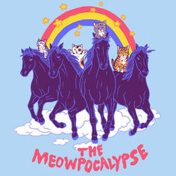 Four Horsemittens of the Meowpocalypse by HillaryWhiteRabbit