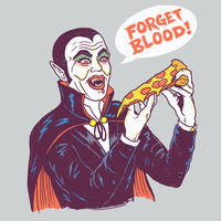 Vampizza by HillaryWhiteRabbit