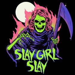 Girl Reaper by HillaryWhiteRabbit