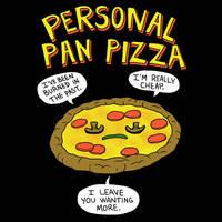 Personal Pan Pizza by HillaryWhiteRabbit