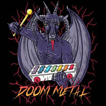 Doom Metal by HillaryWhiteRabbit
