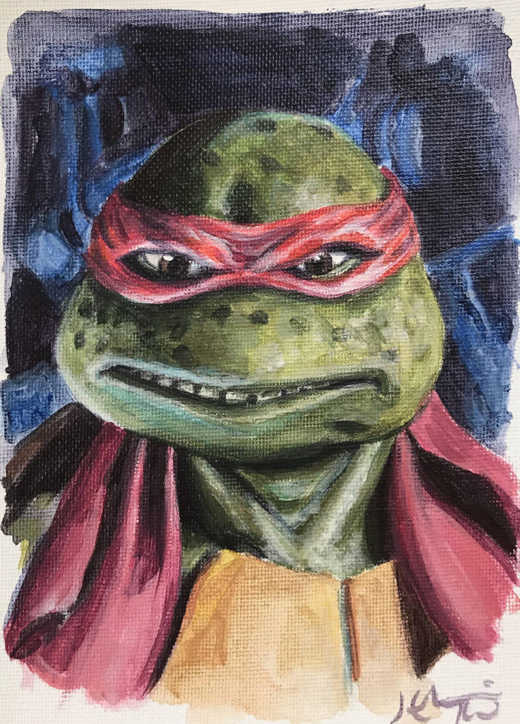 A Little Too Raph by HillaryWhiteRabbit