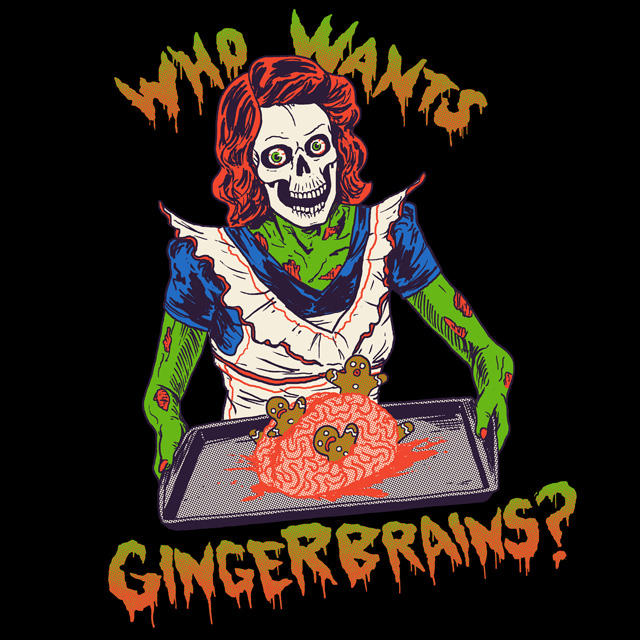 Gingerbrains by HillaryWhiteRabbit
