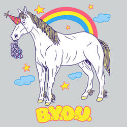 Bring Your Own Unicorn by HillaryWhiteRabbit
