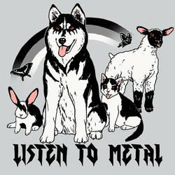 Listen To Metal by HillaryWhiteRabbit