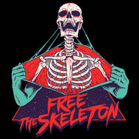Free the Skeleton by HillaryWhiteRabbit
