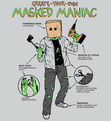 Create-Your-Own Masked Maniac by HillaryWhiteRabbit