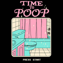 Time To Poop by HillaryWhiteRabbit