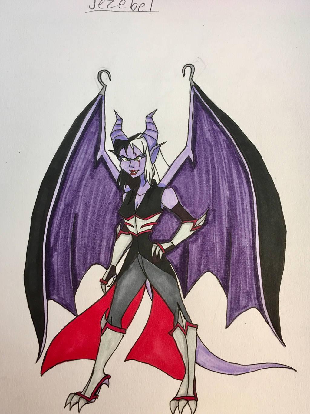 Disney/Gargoyles OC: Jezebel by EmilyDfan