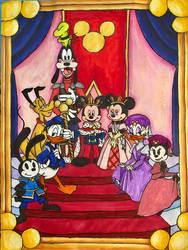 King Mickey Mouse by EmilyDfan