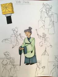 Yoko Shama by EmilyDfan