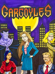 GARGOYLES: Rise of The Defense by EmilyDfan