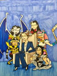 Caloway Family: Next Generation by EmilyDfan
